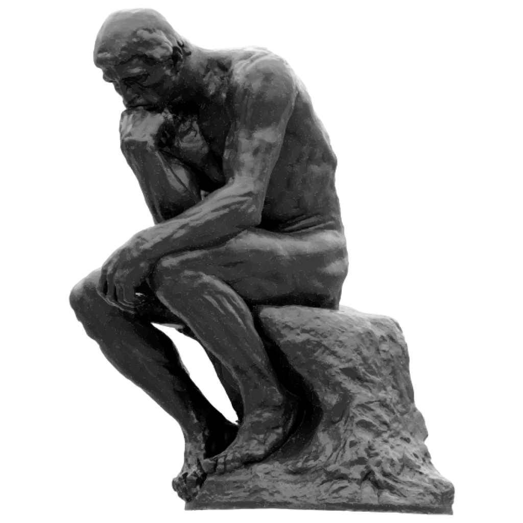 the-thinker-auguste-rodin-grayscale-kombucha-vietnam